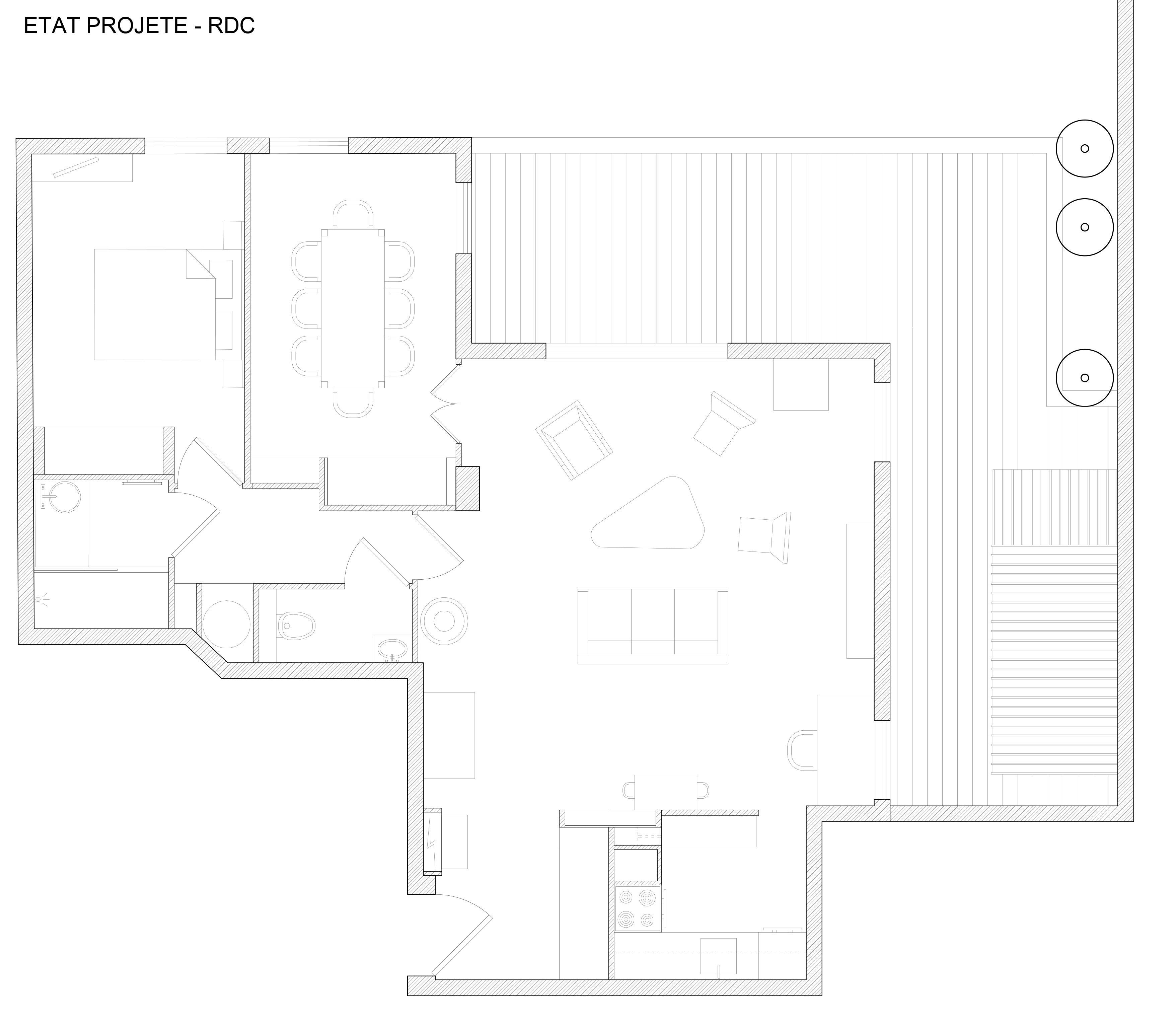 Rez de jardin – Carl Chaine – Architecture